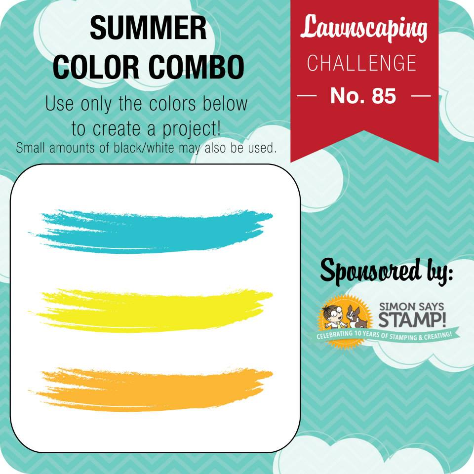 Lawnscaping Challenge: Summer Color Combo sponsored by Simon Says ...