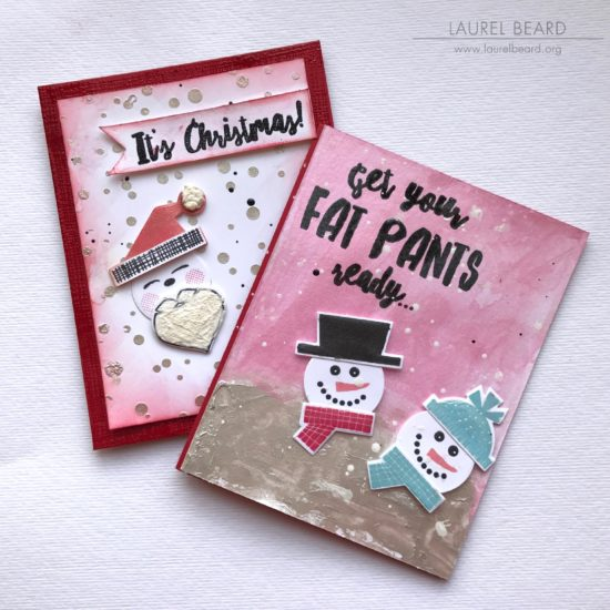 Nuvo Embellishment Mousse Christmas Cards