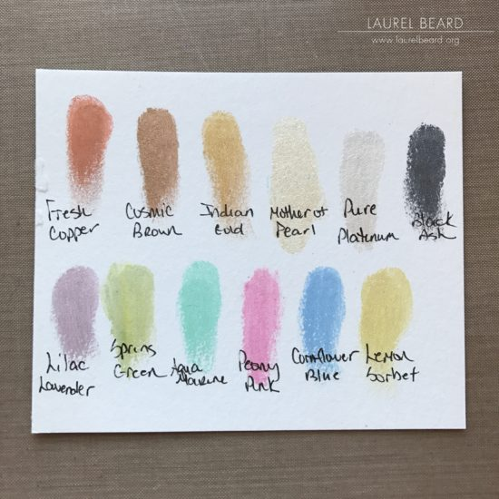 Laurel Beard Nuvo Embellishment Mousse Color Swatch